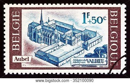 Belgium - Circa 1966: A Stamp Printed In Belgium From The