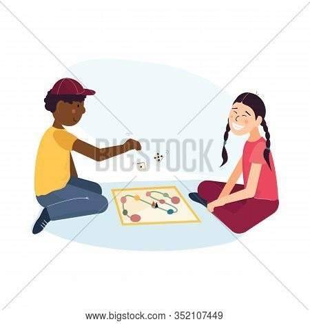 Multi Ethnic Kids Friendship And Teenager Friends Pastime Concept. Children - African American Boy A