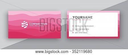 Business Card. Business Cards. Modern Business Card Design . Double Sided Business Card Design Templ