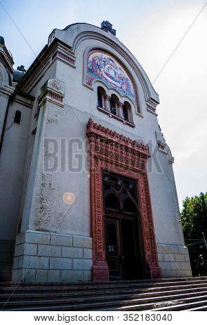 Craiova, Romania - September 07, 2019: Madona Dudu Church Is A Historical Monument Located On The Te
