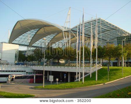 Airport. Munich, Germany