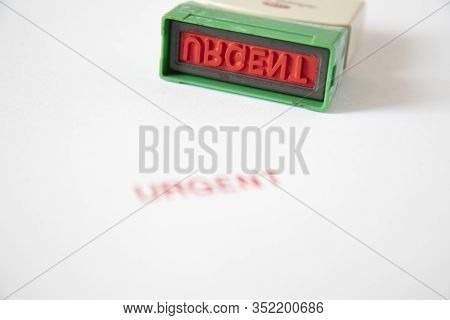 Old Rubber Stamp, Used Office Equipment