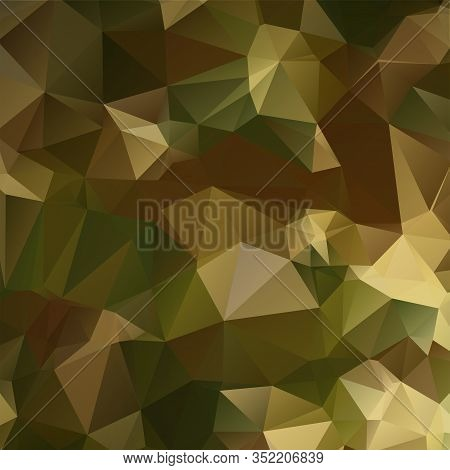 Camouflage Polygonal Mosaic Background Illustration Triangulation Abstract
