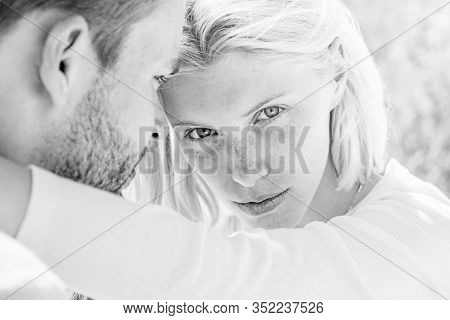 Young Lovers. Tenderness And Intimacy. Passionate Love