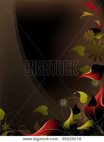 Floral Fantasy-Hintergrund