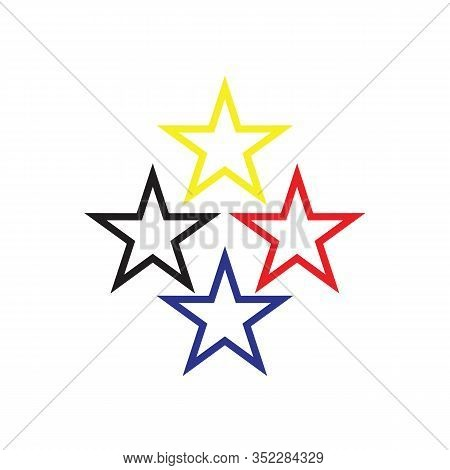 Star Logo, Colorful Star Logo, Star Icon Vector, Star Icon Eps10, Star Icon Image, Star Icon, Star I