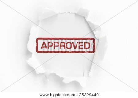 Approved Paper Hole