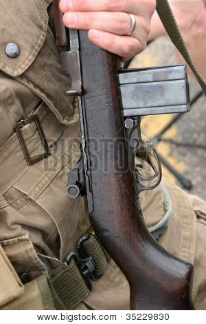 M-1 Carbine Rifle Soldier