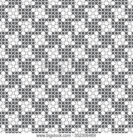 Seamless Pattern. Modern Stylish Texture. Infinitely Repeating Geometrical Texture. Traditional Rhom