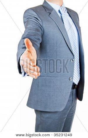 Handshake On An Agreement