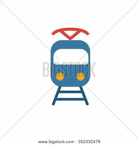 Tram Icon. Simple Element From Transport Icons Collection. Creative Tram Icon Ui, Ux, Apps, Software