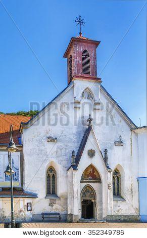 St. Elizabeth Church Is A Roman Catholic Church In The Historical Part Of Banska Bystrica, Slovakia