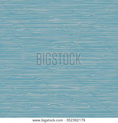 Blue Wood Texture Vector Background. Vector Illustration