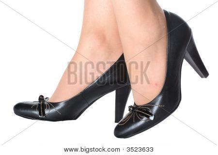 Women'S Feet In Shoes