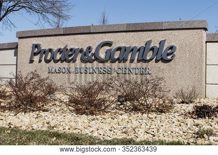 Mason - Circa February 2020: Procter & Gamble Mason Business Center Research And Development Facilit
