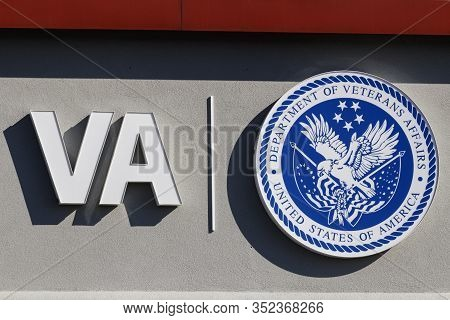 Cincinnati - Circa February 2020: U.s. Department Of Veterans Affairs. The Va Provides Healthcare Se