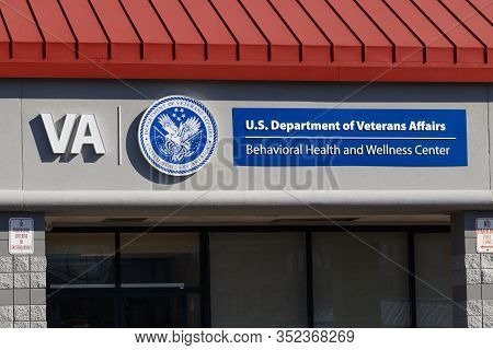 Cincinnati - Circa February 2020: Va Behavioral Health And Wellness Center. The U.s. Department Of V