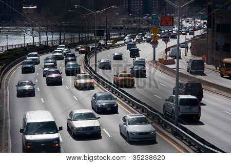 traffico della città