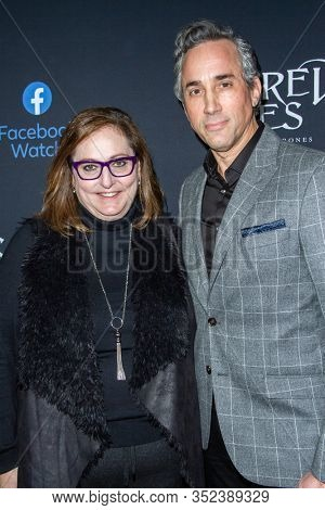Marci Wiseman, Jeremy Gold at the