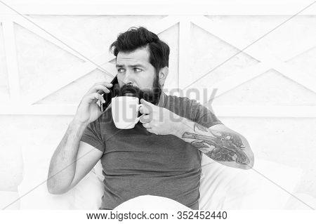 Pleasant Conversation. Good Morning. Modern Life New Technology. Technology Concept. Hello Dear. Bea