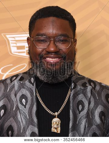 LOS ANGELES - FEB 23:  Lil Rel Howery arrives for the 2020 American Black Film Festival Honors on February 23, 2020 in Beverly Hills, CA