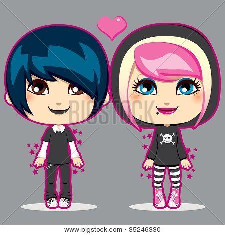 Teen Emo Couple