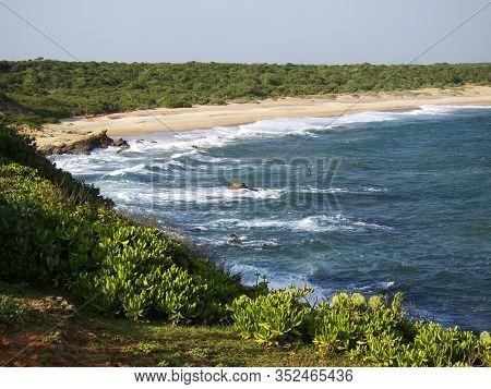 Beautiful Landscape On The Coast In  Sri Lanka