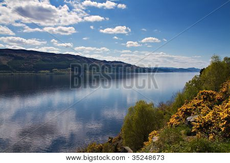 Lookout Over Loch Ness