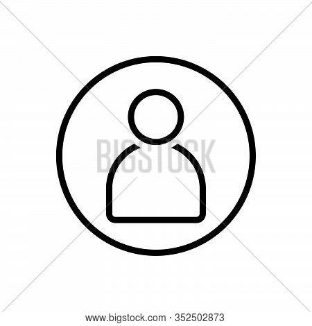 Black Line Icon For Avatar Incarnation Embodiment Personification Reincarnation Palingenesis