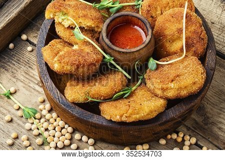 Diet Cutlets From Peas.