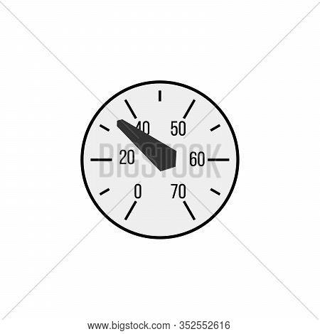 Manometer Face. Measuring Circle Scale. Measuring Round Scale, Level Indicator, Measurement Accelera
