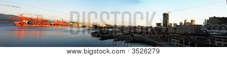 Waterfront Of Vancouver