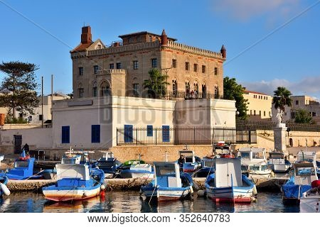 Florio Palace Is A Neo-gothic Building, Built By Ignazio Florio From 1876 To 1878 26 2019 Favignana