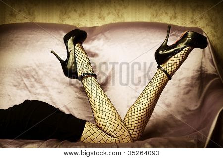 Sexy Female Legs In Shoes