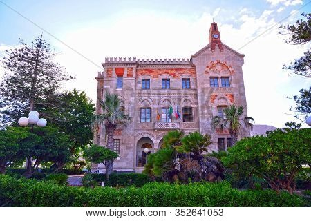 Florio Palace Is A Neo-gothic Building, Built By Ignazio Florio From 1876 To 1878 Favignana Sicily I
