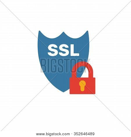 Ssl Icon. Simple Element From Web Hosting Icons Collection. Creative Ssl Icon Ui, Ux, Apps, Software