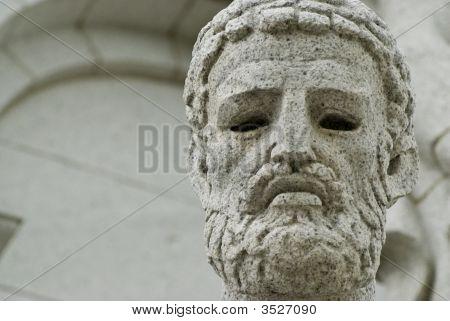 A Portrait Of A Greek God