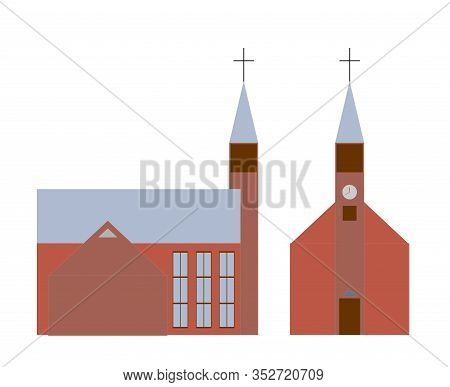 Evangelical Lutheran Church. Historical And Religious Buildings. Lutheran Church.