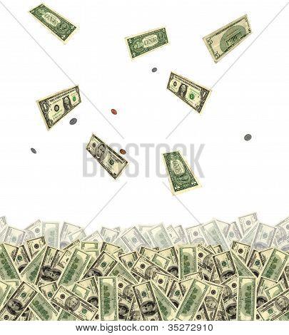 Lots of Money Falling