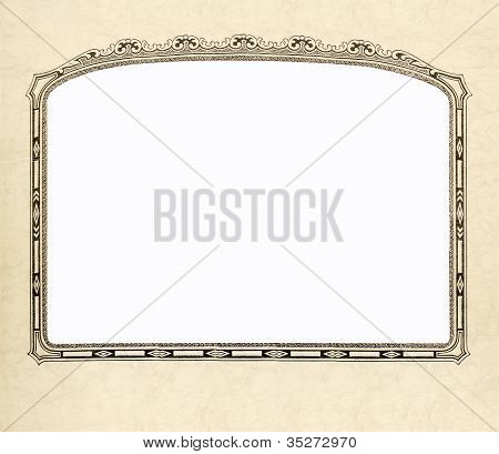 Old fashioned Picture Frame