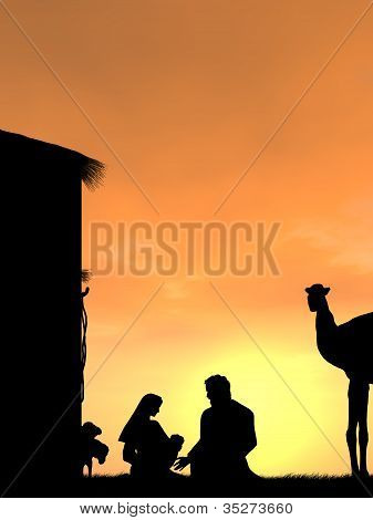 Sunset at Bethlehem