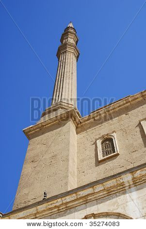 Details of Saladin mosque Cairo Egypt