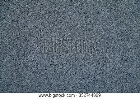 Mosaic And Granulated Textured Coating, Texture, Background. Structural Plaster, Rough, Uneven Surfa