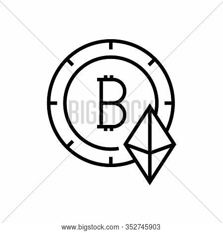 Advantages Line Icon, Concept Sign, Outline Vector Illustration, Linear Symbol.