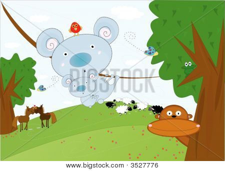 Cute Animal Farm