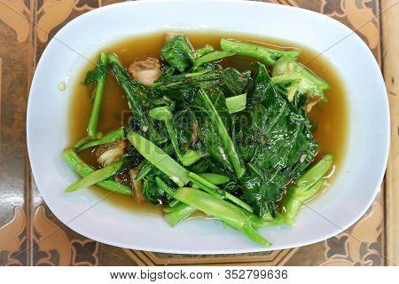 Stir Fried Kale With Pork ,stir Fried Vegetable