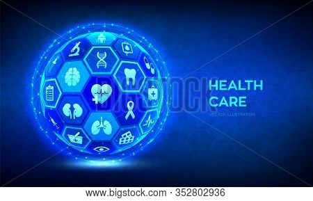 Health Care And Medical Services Concept. Emergency Service. Healthcare Diagnosis And Treatment. Med