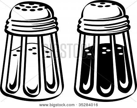 Salt And Pepper Shakers Clip Art