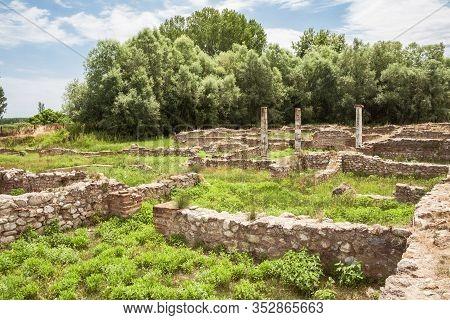 Dion Archaeological Park, Ruin Demeter Sanctuary, Greece