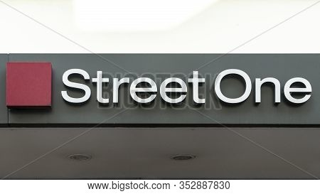 Trier, Germany - September 13, 2019:  Street One Logo On Shop Facade In Trier, Germany